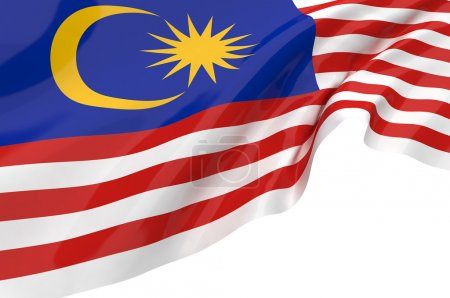 Illustration flags of Malaysia