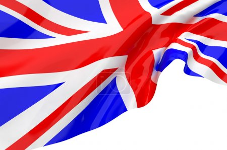 Photo pour Drapeaux du Royaume-Uni - image libre de droit