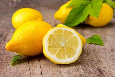 Photo for Fresh lemons - Royalty Free Image