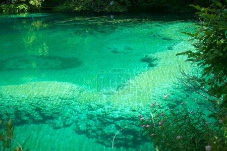 Magic colors in Plitvice lake, Croatia