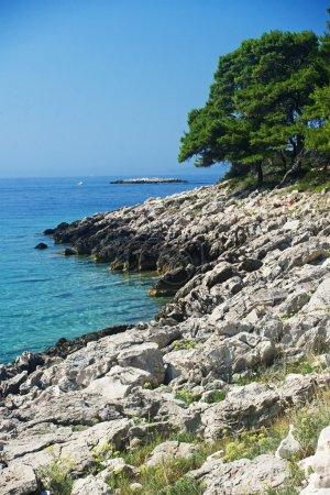 Magic rocky sea landscape in Pritzba, Croatia