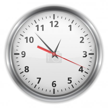 Illustration for Clock, vector eps10 illustration - Royalty Free Image