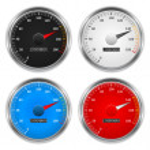 Speedometers, vector eps10 illustration...