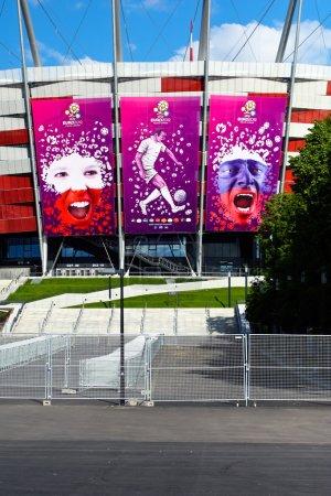 Photo pour Championnat d'Europe de football 2012 - image libre de droit