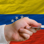 Постер, плакат: Buying with credit card in venezuela