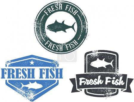 Fresh Fish Stamps