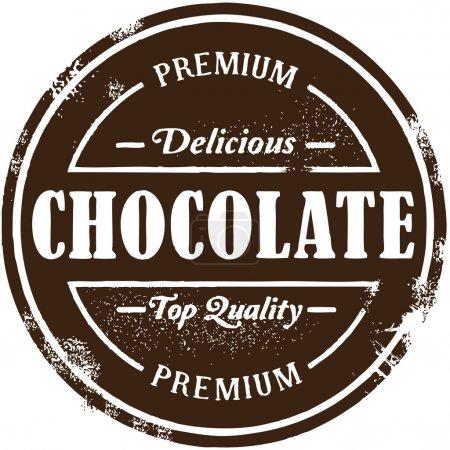 Vintage Style Premium Chocolate Stamp