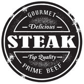 Vintage Steak Stamp
