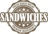 Deli Sandwich Stamp