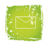Old email icon with envelope