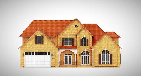 Yellow brick house