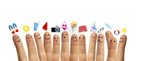 Finger smileys