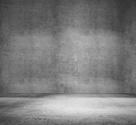 Photo for High resolution white concrete room - Royalty Free Image