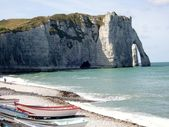 Etretat in Normandy, France