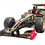 BANGKOK-DEC 01: Formular 1 racing car Lotus-Renaul...