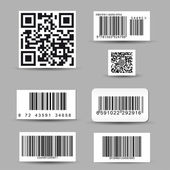 Set of barcode labels