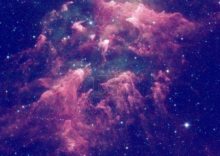 Space stars and nebula