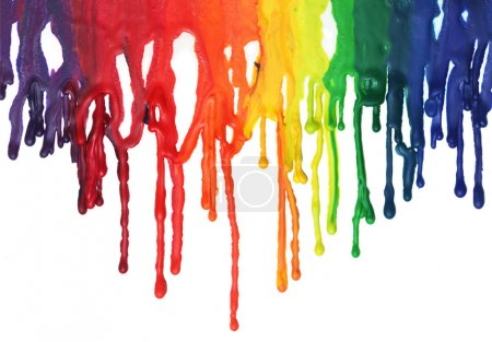 Photo for Paint dripping - Royalty Free Image