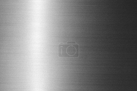 Photo pour Plaque de métal brossé - image libre de droit
