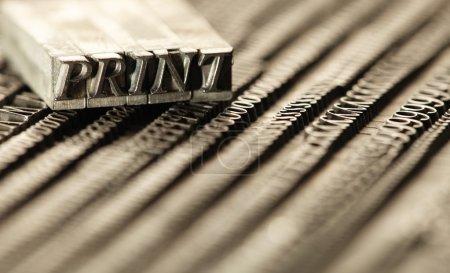blocs de typographie
