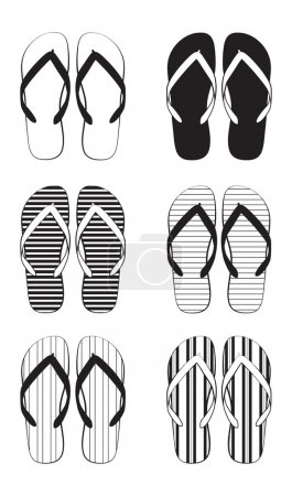 Flip flop collection