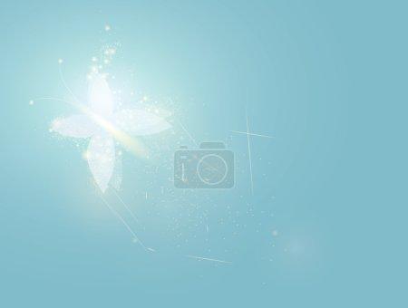 Illustration for Blue magic background - Royalty Free Image