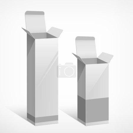 Package white box long design