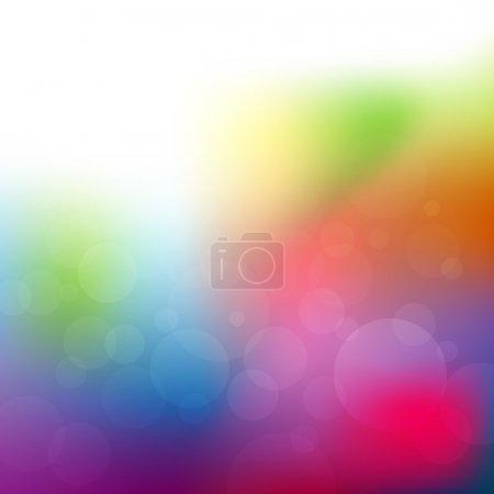 Illustration pour Fond abstrait aquarelle, illustration vectorielle - image libre de droit