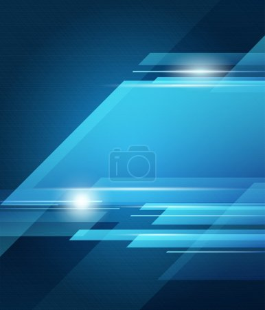 Illustration for Abstract vector blue transparency background, vector illustration - Royalty Free Image