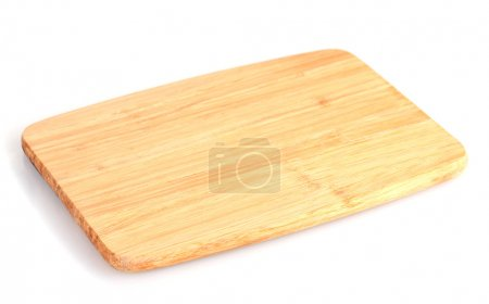 Cutting board isolated on white