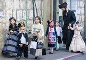 Purim in Mea Shearim