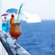 Cocktails on a cruise ship in the summer...