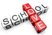 Láska školy křížovky