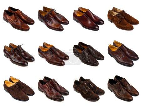 Brown men's shoes-1