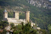Old castle in the mountains