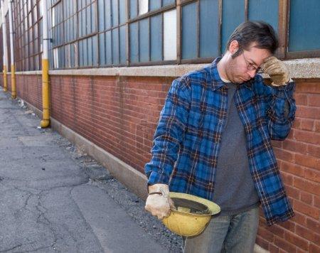Photo pour Homme sans travail - image libre de droit