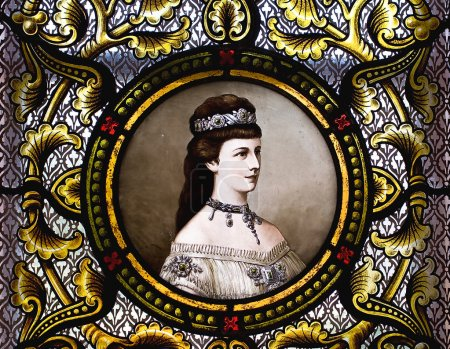 Portrait of empress Elisabeth of Austria
