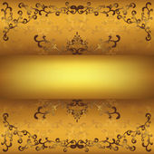 Vintage golden background