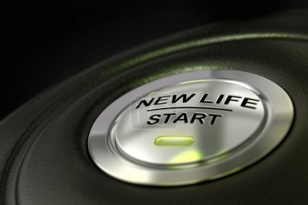New life start button