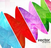 Abstraktní vektorová bezešvé pozadí květinové struktura