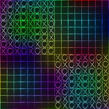 Texture of a colour tile