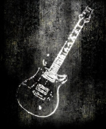 Photo for Electric guitar background - Royalty Free Image