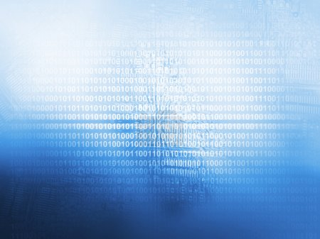 Photo pour Fond de technologie pour le code source - image libre de droit