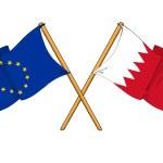 Постер, плакат: European Union and Bahrain alliance and friendship