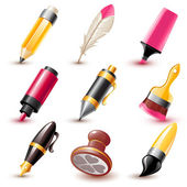 Pen icons