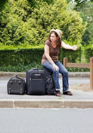 Hitchhiking, discouragement