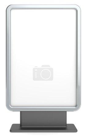 Photo pour Panneau d'affichage vide pour espace copie - image libre de droit