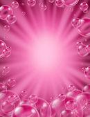 Pink Bubbles Concept