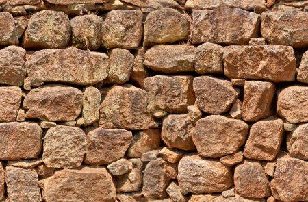 Old stone wall, seamless pattern