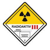 Nebezpečných látek příznaky ikonu hořlavé lebka radioaktivní riziko
